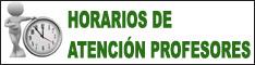 HORARIOS DE ATENCIÓN DE PROFESORES/AS